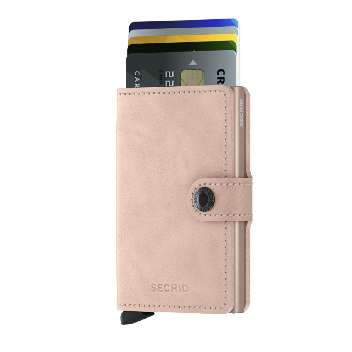 bc1f95f240d Secrid mini wallet leer vintage rose - MV-rose - 41,28€