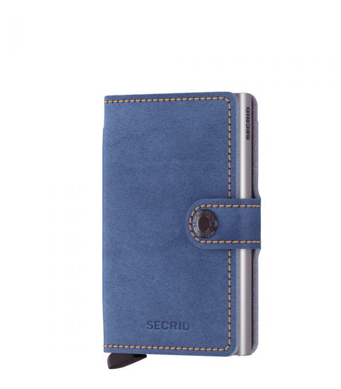 Secrid mini wallet leer Indigo 3