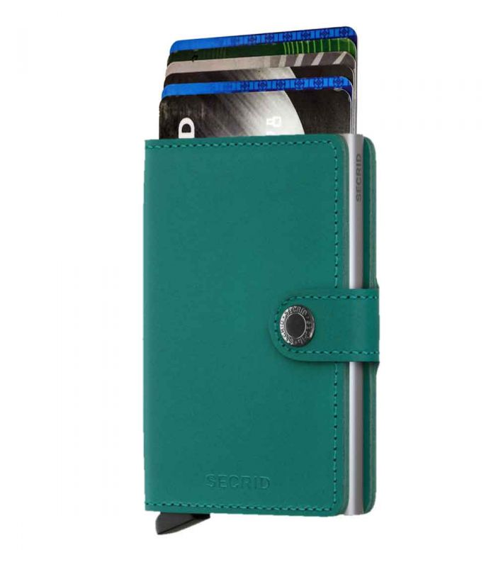 SECRID - Secrid mini wallet leer original emerald
