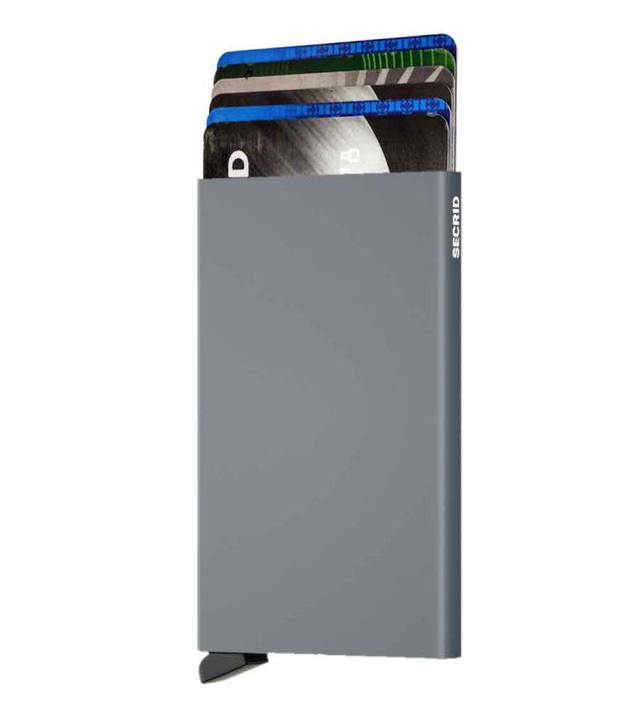 SECRID - Secrid card protector aluminium in kleur titanium