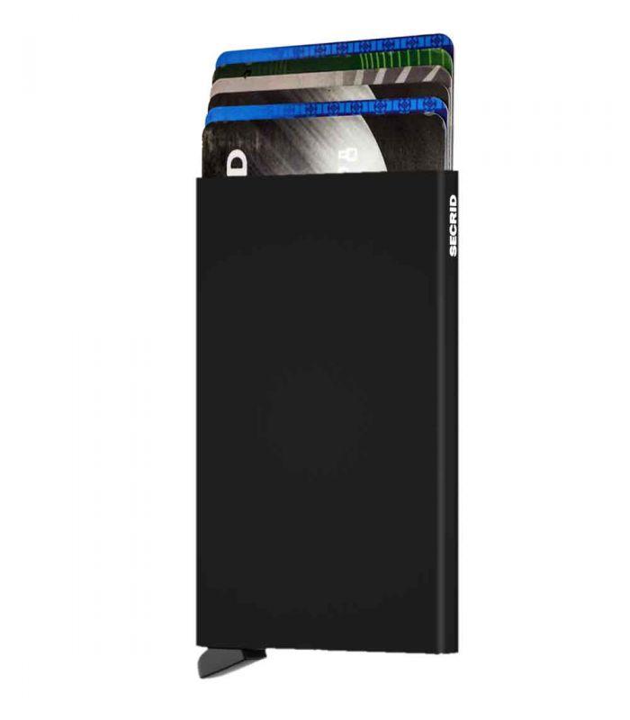 SECRID - Secrid card protector aluminium in kleur zwart