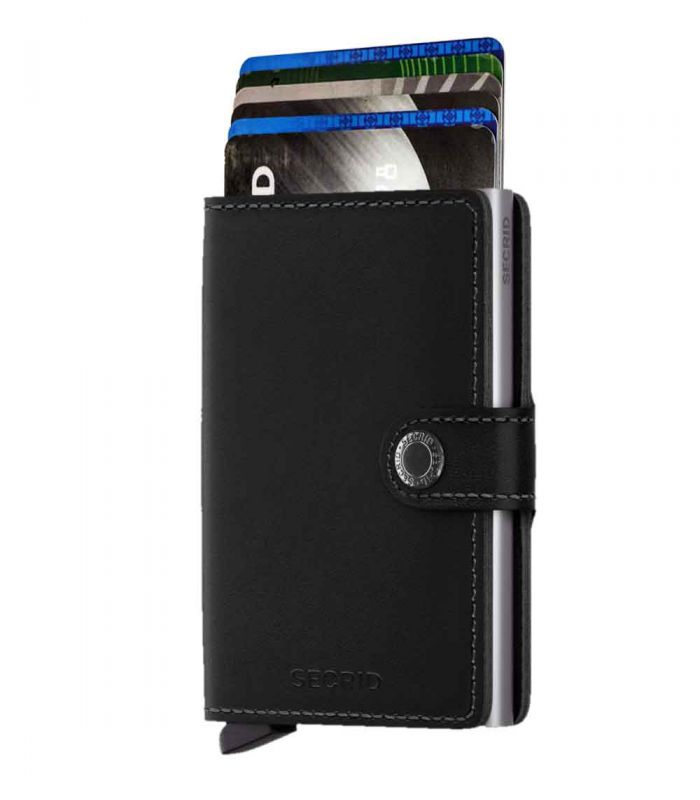 SECRID - Secrid mini wallet leer original zwart
