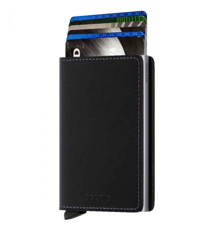 SECRID - Secrid slim wallet leer original zwart